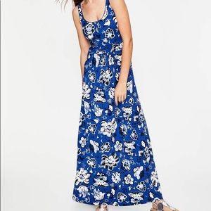 Boden Diana Blue Floral Maxi